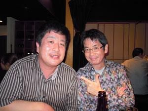 「2009年10月 村井祐児 with AHS」 打ち上げ