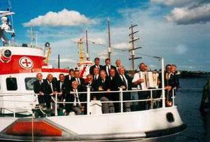 Rettungskreuzer Berlin zur Kieler Woche im Juni 1999
