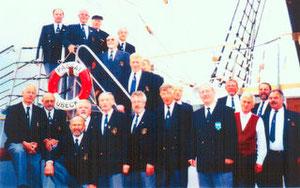 """Schulschiff """"Passat"""" mit Albatros vormals SC Gruppe 1996"""