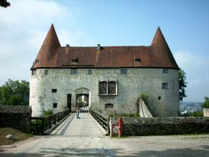 Eines von vielen Burgtoren