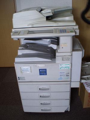 印刷速度は遅くても、力強く、いい仕事ぶりでした