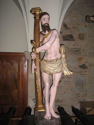 Cristo atado a la columna.