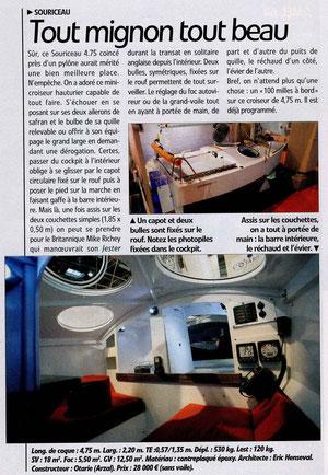Voile Magazine janvier 2009