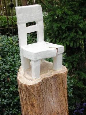 Stuhl und Skulptur zugleich.