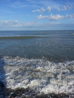 La mer  à CAYEUX-SUR-MER