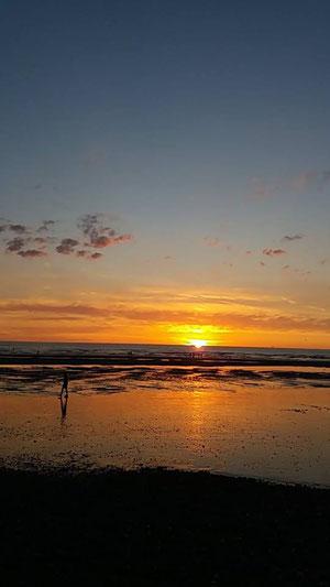 coucher de soleil 31 juillet 2018