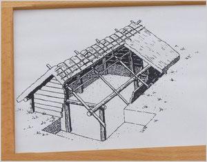 Schaubild Grubenhaus