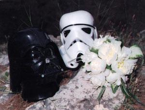 Una boda muy galáctica