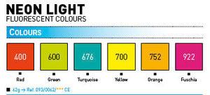 Gamma colori Cernit Neon Light da:Panetti da 62 gr: euro 1,70