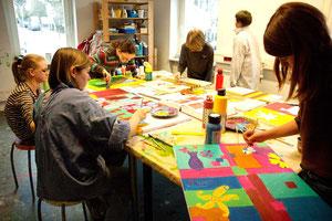 Moderne Acrylmalerei Für Kinder und Jugendliche