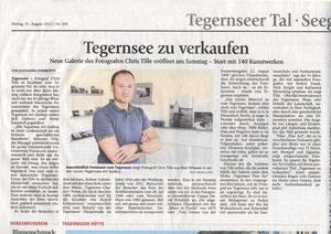Chris Tille, Tegernsee Art Gallery, Foto Galerie, Fotografie, Fotokunst