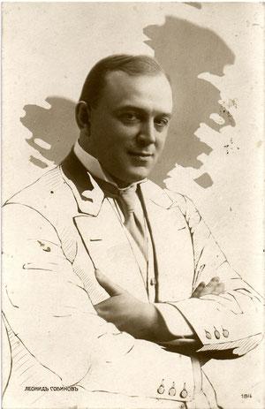 Леонид Витальевич Собинов (фото с сайта http://yarcenter.ru)