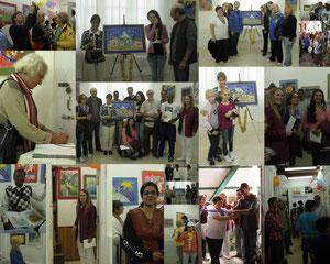 Выставка в Наггаре в имении Рерихов