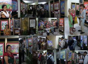 Выставка в Калькутте