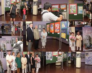Выставка в Дели в Культурном центре