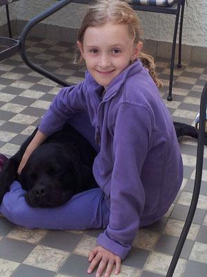 Mara und Lucky im August 2012