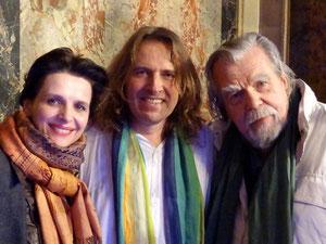 Juliette Binoche, Michel Garnier, Michael Lonsdale