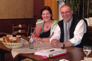 Karin Heinze und Helmut Lieven