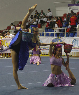 fitkid ,european championship 2011 , acrodanza