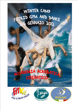 winter camp fitkid, accademia acrobatica