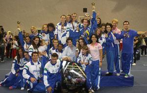 fitkid,crosignani gabriella,squadra italiana, europei 2011 fitkid e fitnesswoman