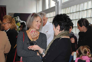 at the vernissage with Dagmar Küchler 23 Oct