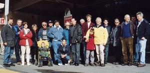 Einige Mitglieder des Clubs zu Besuch beim CEAV in Samedan