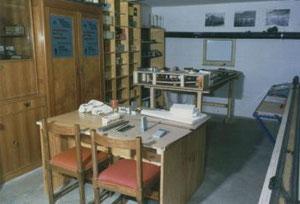 Das erste Clublokal im Tiefparterre des Schönherrsaales