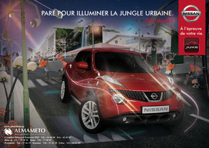 appel d'offre Lancement de la Nissan Juke - Agence Push & Pull