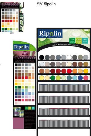PLV pour Ripolin - Atelier B2