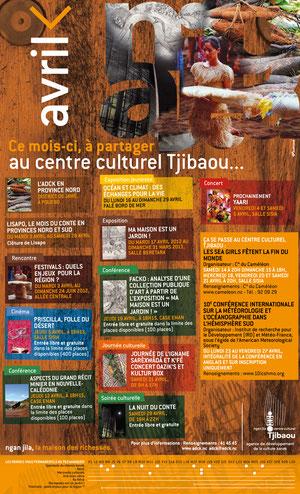 Agenda Tjibaou pour l Hebdo Local - Agence Push & Pull