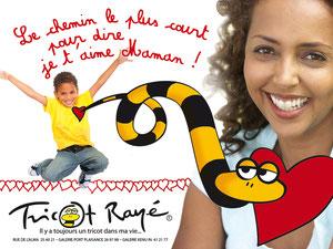 proposition de 4x3 pour Tricot Rayé pour la fête des mères