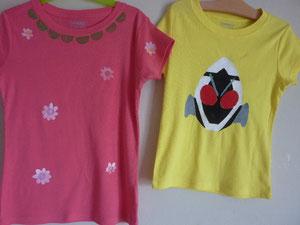 Tシャツ作り(姉&弟)