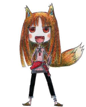 賢狼ホロ…『狼と香辛料』より