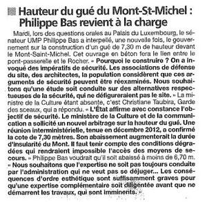 Presse de la Manche, 23.05.13