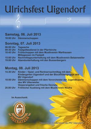 Flyer Ulrichsfest