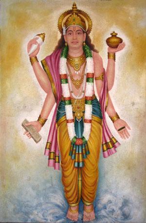 Dhanvantari, la divinité associée à l'ayurveda