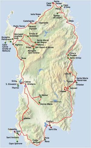Die Insel Sardinien
