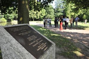 Découverte du parc par le jury - Richard Soberka