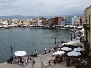der venezianische Hafen von Chania