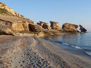 die Felsen von Triopetra