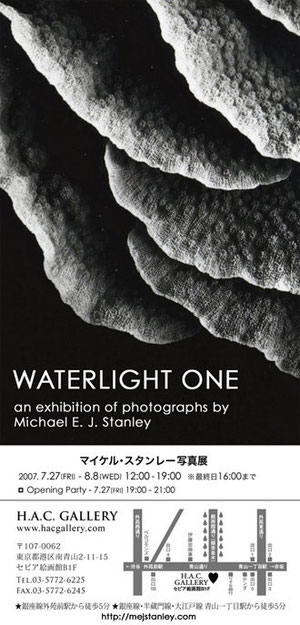 For the Waterlight I exhibition, HAC Gallery
