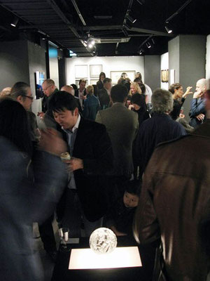 Opening reception for the Contrasts 2-man exhibition