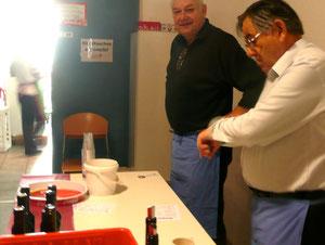Wein - Bier - oder Mineralwasser gefällig?