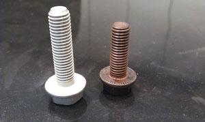 Längere Schrauben für Salzmann Adapter.