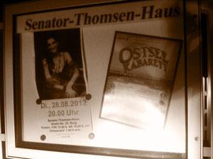 """Abendstimmung vor dem """"Senator-Thomsen-Haus"""""""