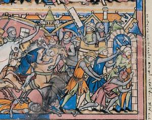 Maciejowski-Bibel: Folio 16v