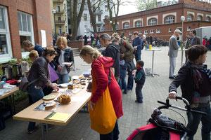 Großereignis des Schulvereines: Der Flohmarkt.