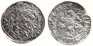 Fig. 1 - Lӧwenthaler di Massa di Lunigiana venduto in asta Münzen und Medaillen n°36 del 14-15 Giugno 1968 lotto 236 e poi apparso in Listino Marchesi del Marzo 1971, lotto 294.