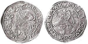 Fig. 6 - Lӧwenthaler di Massa di Lunigiana tratto da Bellesia (2008). Appartenente alla collezione della Cassa di Risparmo di Carrara, ex asta Auctiones del 28 Giugno 1978, lotto 1647.